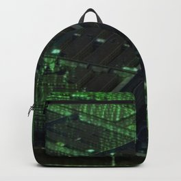 Usa Pentagon Artistic Illustration Data Code Style Backpack