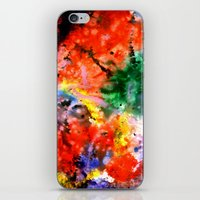 milky way iPhone & iPod Skins featuring Milky Way by Ink and Paint Studio