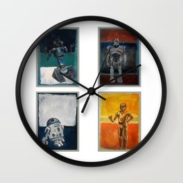 Rothbots Wall Clock