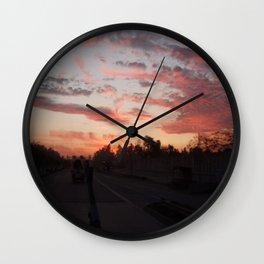 Sun Flare Wall Clock