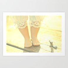 Alice's Escapades ~ Alice & The Thread Art Print