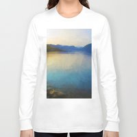scotland Long Sleeve T-shirts featuring Scotland Landscape by Hail Of Whales