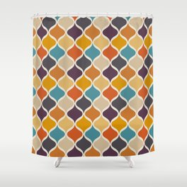 Moroccan Fall 3 Shower Curtain