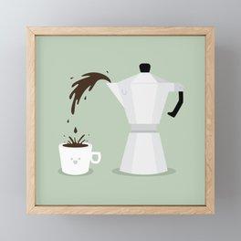 Espresso Time! Framed Mini Art Print