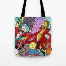 Simpsons Halloween Bonanza Tote Bag