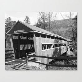 East and West Paden Twin Bridge Canvas Print