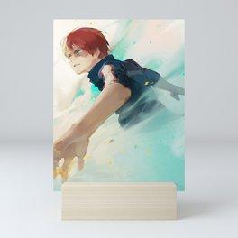 Todoroki move Mini Art Print