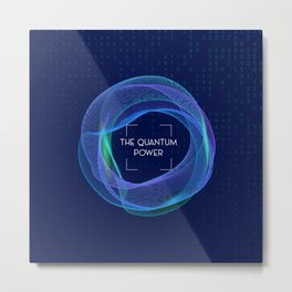 Quantum Super Power Metal Print