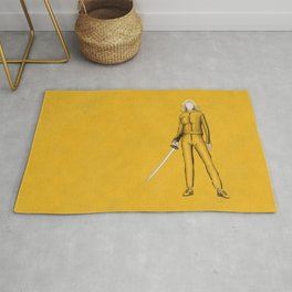 The Bride without a face (Kill Bill) Rug