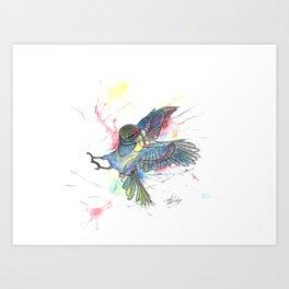 Attack (2012) Art Print
