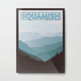 Squamish British Colombia Metal Print