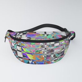 Mosaic Mountain Fanny Pack