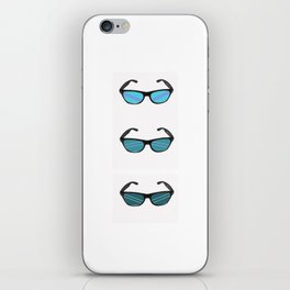 colorful raybans iPhone Skin