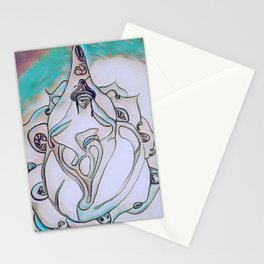 buda loto Stationery Cards