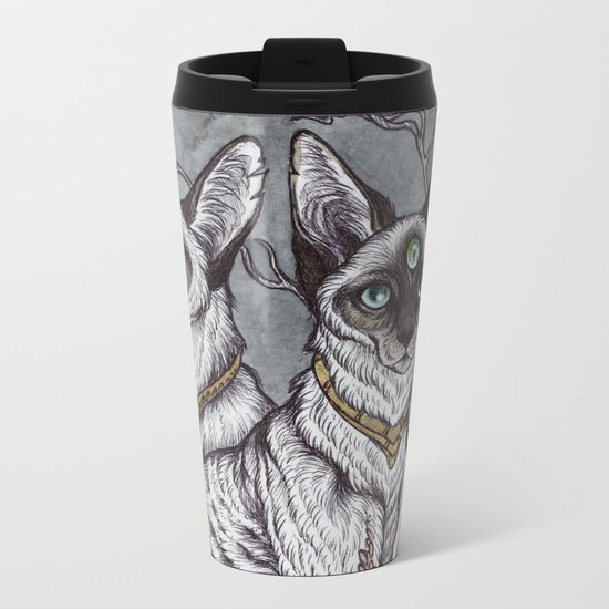 Gift of Sight art print Metal Travel Mug