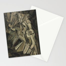 Marcel Duchamp's Nude Descending a Staircase, No. 2 Stationery Cards