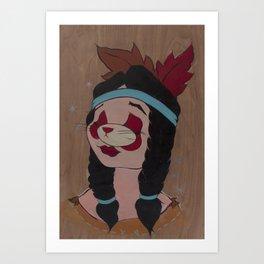 ex-Antelope Art Print