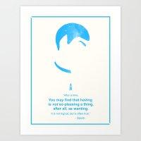Spock Wisdom Art Print