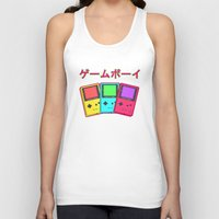 gameboy Tank Tops featuring Gameboy by Chrome