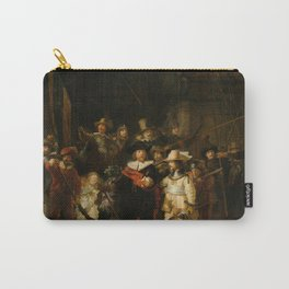 Rembrandt van Rijn - Nightwatch - Nachtwacht (1642) Carry-All Pouch
