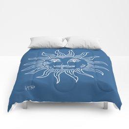 Runny nose sun Comforters
