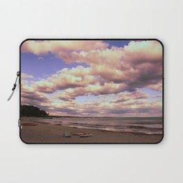 Beach Canoes Laptop Sleeve