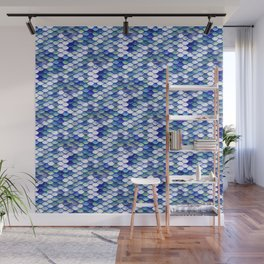 Mermaid Tale Pattern Wall Mural