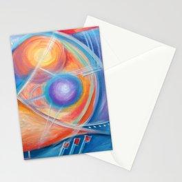 faraway worlds. mundos distantes Stationery Cards