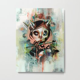 Creative Cumunication Metal Print