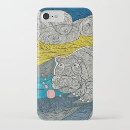 Hippo Lippo iPhone Case