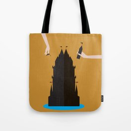 Castle Building Tote Bag