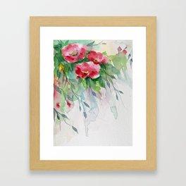Floral -watercolors Framed Art Print
