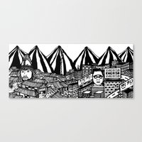 korea Canvas Prints featuring Korea by Matt Ferguson