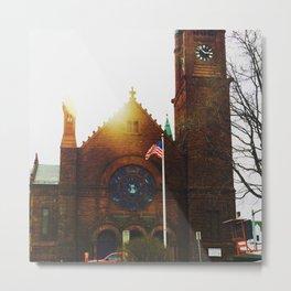 Church in Fitchburg Metal Print