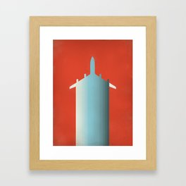 BLU PLN Framed Art Print