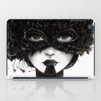 la iPad Cases featuring La veuve affamee by Ludovic Jacqz
