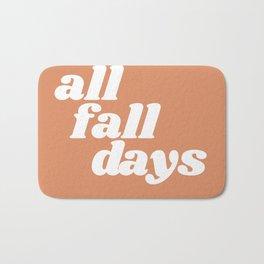 all fall days Bath Mat