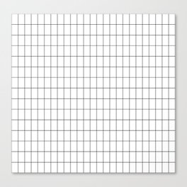 City Grid Canvas Print