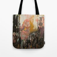 ramen Tote Bags featuring Ramen Noodles by Chad Beroth