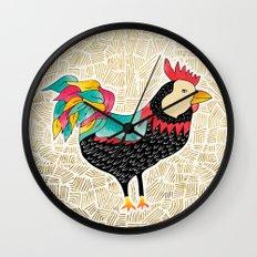 Key West Cuckaroo Wall Clock