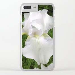 The Purity Of A Spring Time Iris Clear iPhone Case