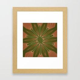 Box Wine Kaleidoscope Square III (Bota III) Framed Art Print