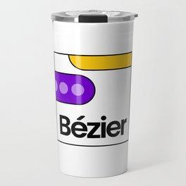 Bézier Show Travel Mug
