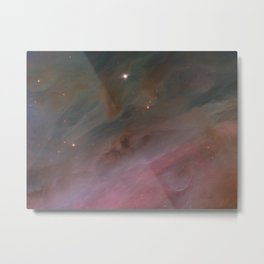 Hubble Space Telescope - Pillars of Ultraviolet in the Orion Nebula (2006) Metal Print