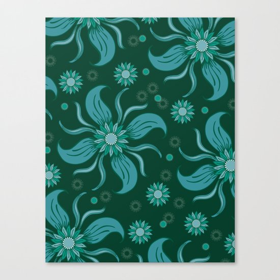 Floral Obscura Canvas Print