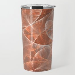 Dream Sequence, Abstract Psychedelic Fractal Art Travel Mug
