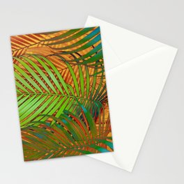 TROPICAL LEAVES POP-ART no2 Stationery Cards