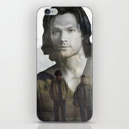 Sam Winchester Fan Art iPhone Skin