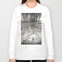 frozen Long Sleeve T-shirts featuring Frozen by Michael G. Mitchener