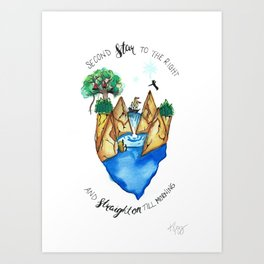 Find Neverland Art Print